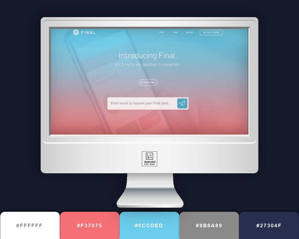 3 MODERN BUSINESS Color Schemes for your next Website