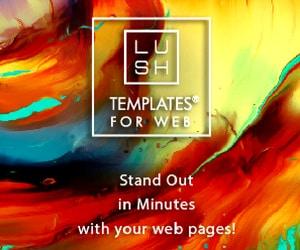 LUSH TEMPLATES FOR WEB - WordPress page layouts and blocks