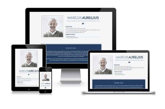 CV ACADEMIC ELEMENTOR TEMPLATES - Create beautiful websites in a few minutes